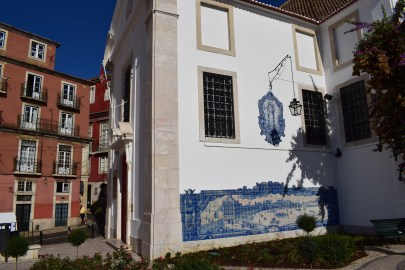 Mirador de Santa Lucía, Alfama. Lisboa (Portugal)