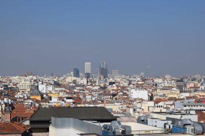 Mirador Museo Bellas Artes. Madrid (España)