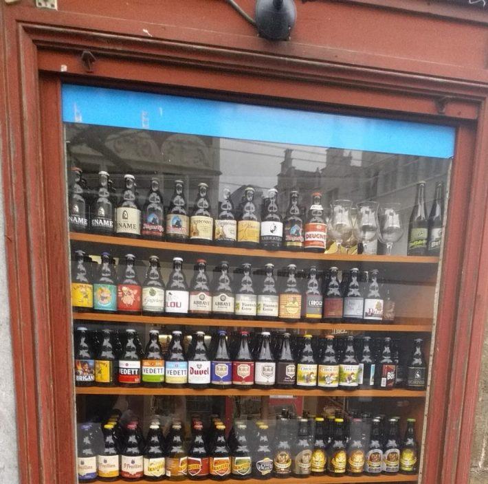 Deliciosas cervezas belgas. Gante (Bélgica)