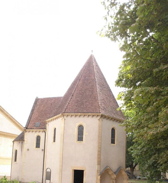 Chapelle de los Templiers. Metz (Francia)