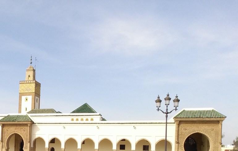 Mezquita del Palacio Real. Rabat (Marruecos)