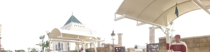 Mausoleo Mohamed V. Rabat (Marruecos)