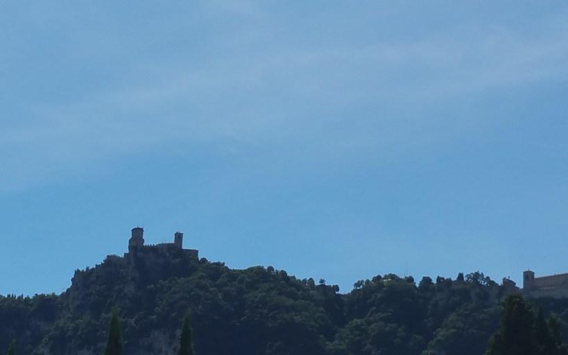 Monte Titano. San Marino.