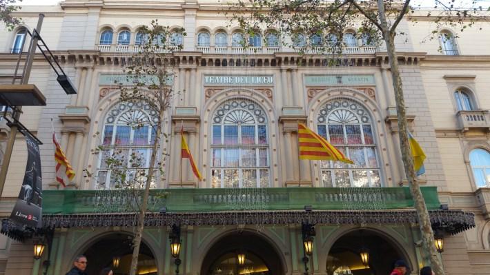 Teatro Liceu. Barcelona (España)