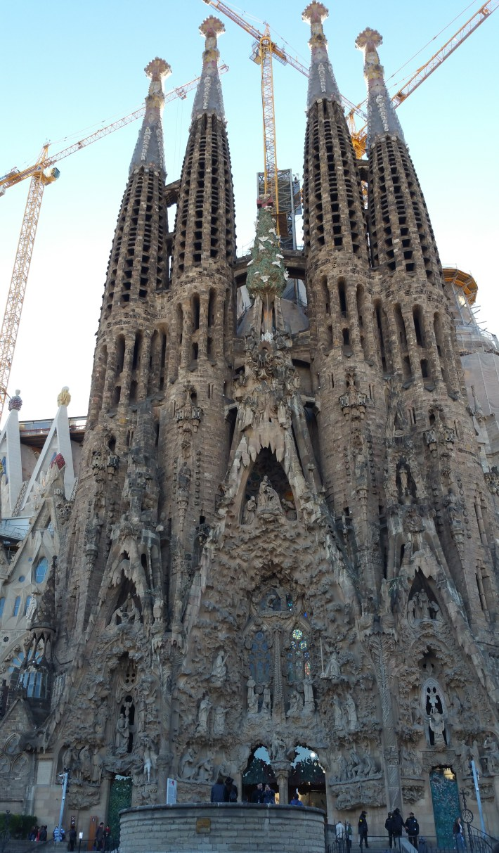 La Sagrada Familia. Barcelona (España)