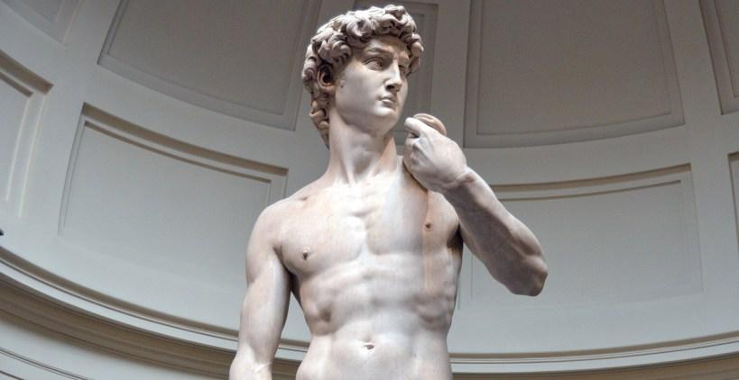 David de Miguel Angel, en Galleria della Academia. Florencia (Italia)