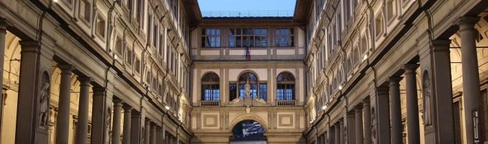 Los Uffizi. Florencia (Italia)