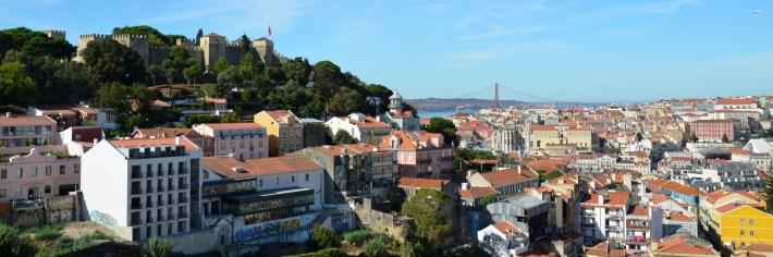 Vistas desde el mirador da Graça. Lisboa (Portugal)