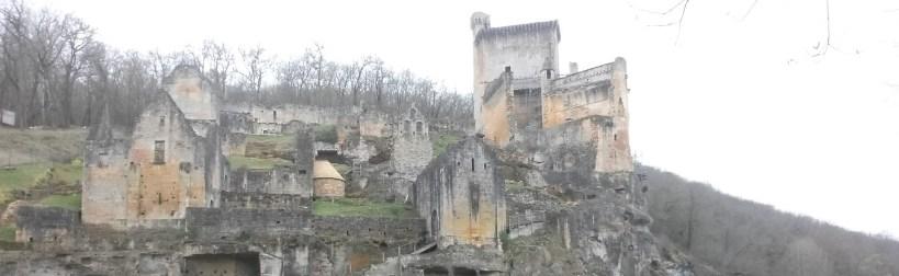 Castillo de Commarque. Perigord, Aquitania (Francia)