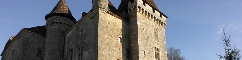 Castillo De La Marthonie, St. Jean De Colé, Perigord, Aquitania (Francia)