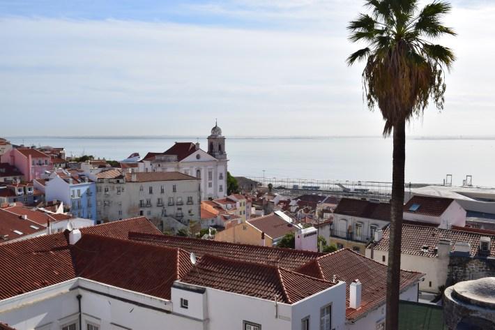 Mirador Portas do Sol. Lisboa (Portugal)