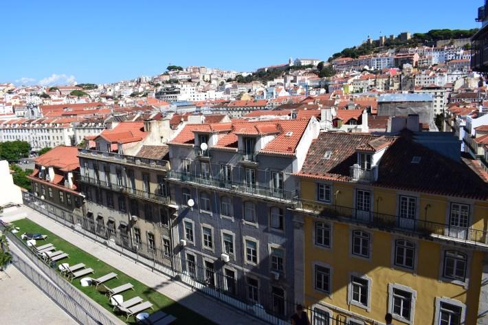 Mirador Convento do Carmo. Lisboa (Portugal)