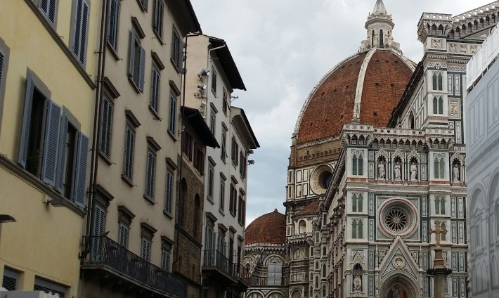 Cúpula de Bruneleschi. Florencia (Italia)