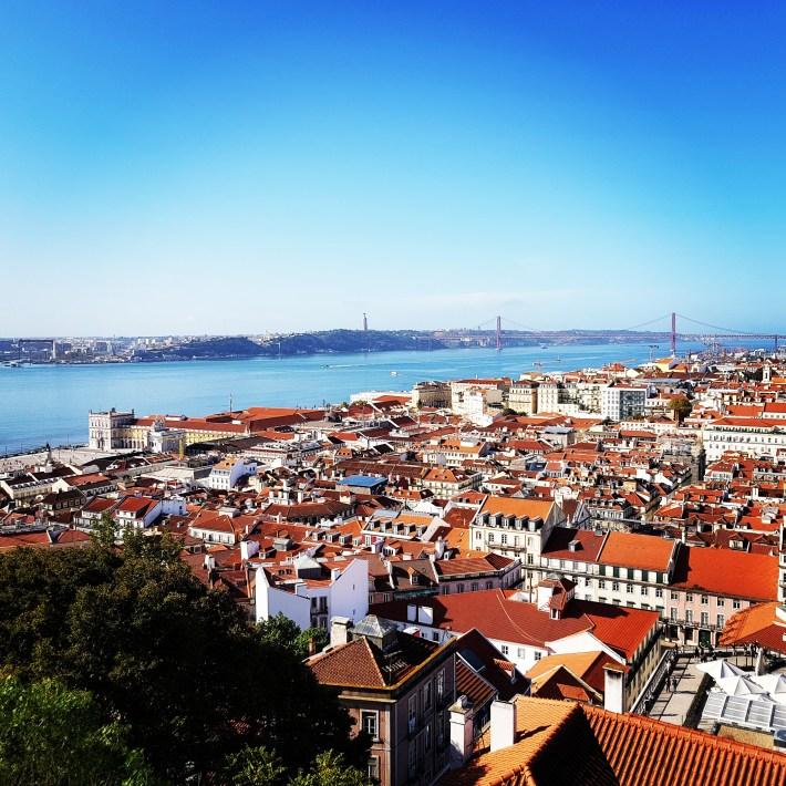 Mirador Castelo de São Jorge. Lisboa (Portugal)