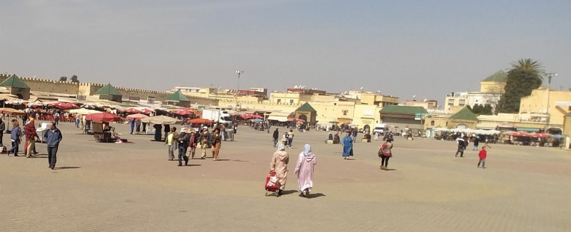 Plaza el-Hedim. Meknes (Marruecos)