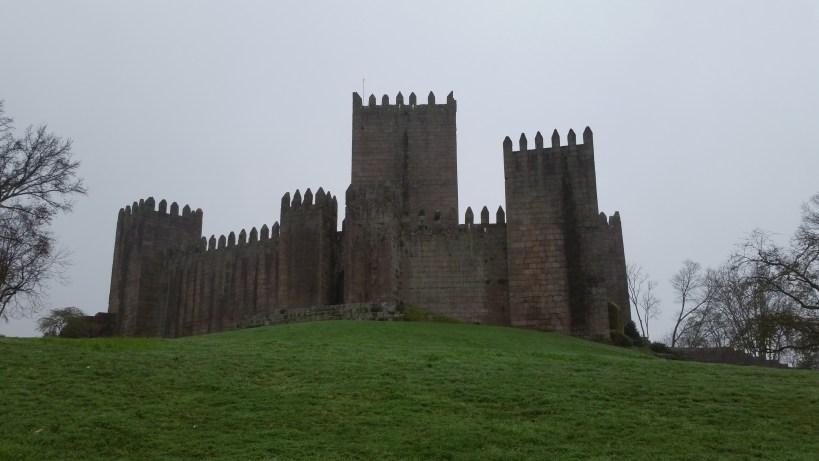 Castillo templario de Guimarães (Portugal)