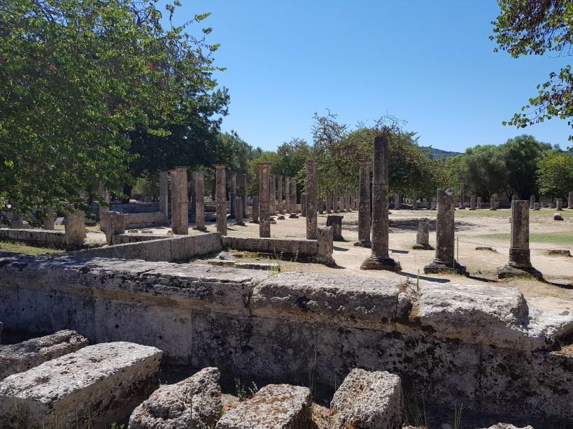 La Palestra. Olimpia (Grecia)