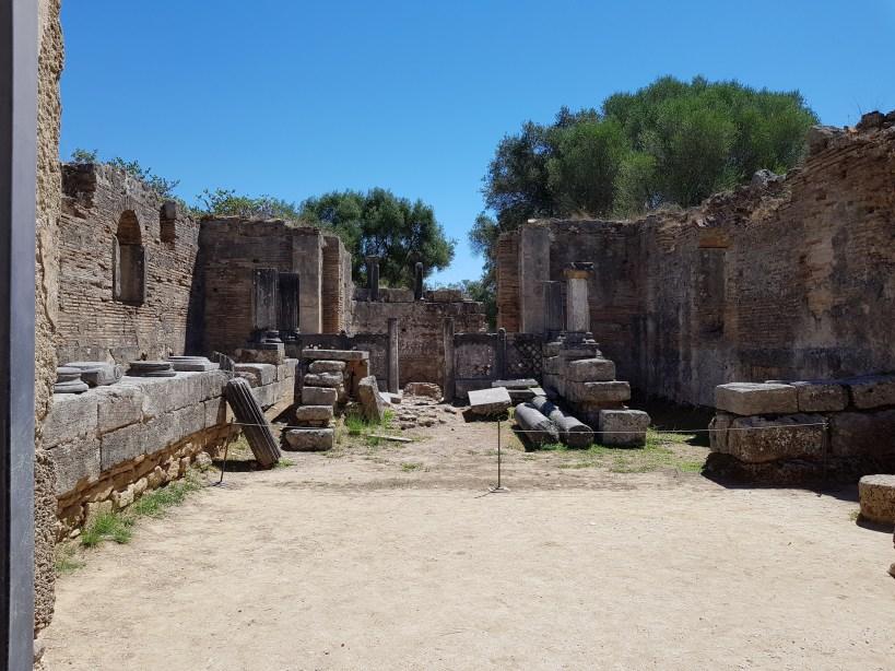 El taller de Fidias. Olimpia (Grecia)