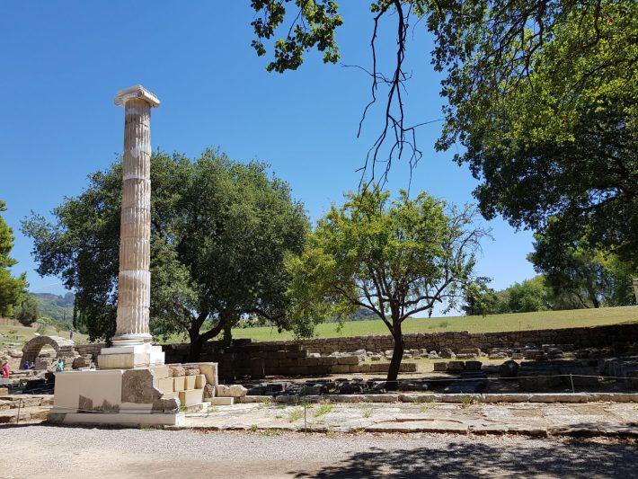 Echo Stoa. Olimpia (Grecia)