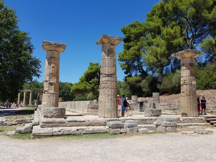 Templo de Hera. Olimpia (Grecia)
