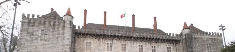 Palacio dos Duques de Bragança. Guimarães (Portugal)