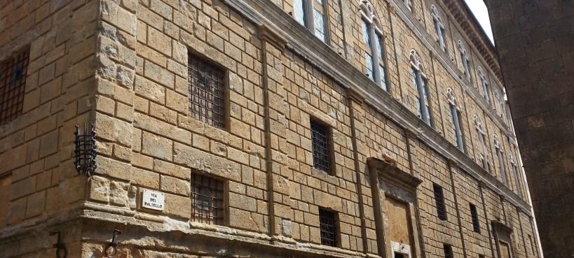 Palazzo Piccolomini. Pienza (Italia)