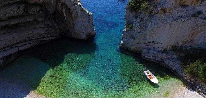 Playa Stiniva. Komiza (Croacia)