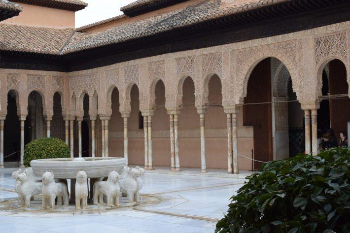 Patio de Los Leones. Granada (España)