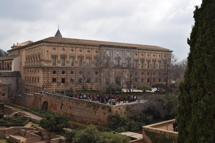 Palacio de Carlos V, la Alhambra. Granada (España)