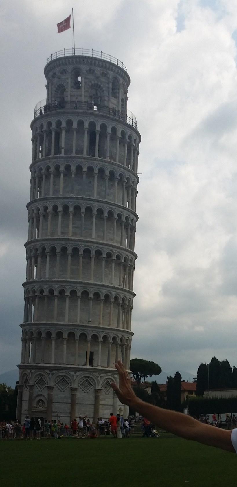 Torre inclinada. Pisa (Italia)