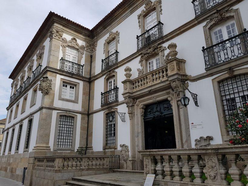 Biblioteca. Braga (Portugal)