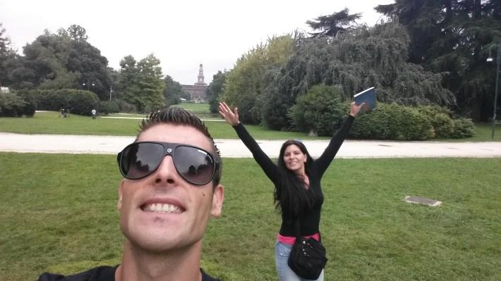 Parque Sempione. Milán (Italia).