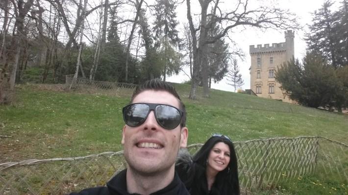 Castillo Puymartin. Perigord, Aquitania (Francia)
