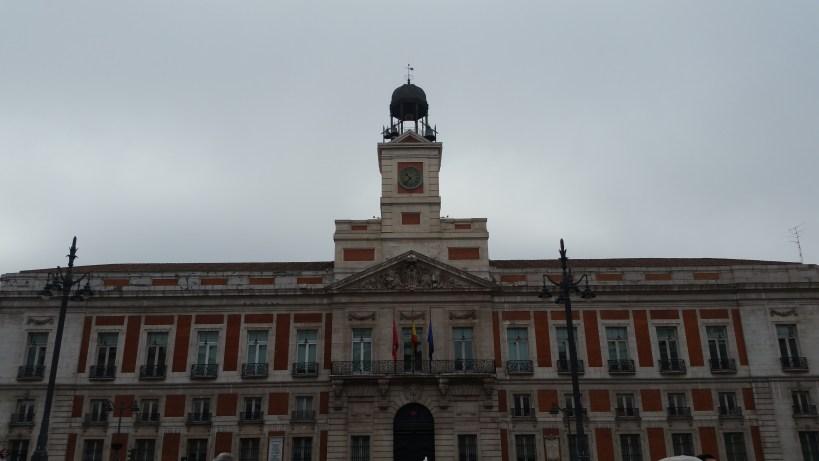 Edificio de Correos, Puerta del Sol. Madrid (España)