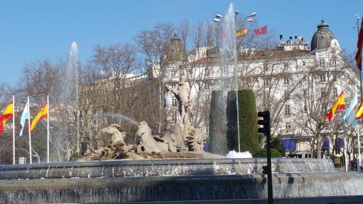 Fuente de Neptuno. Madrid (España)