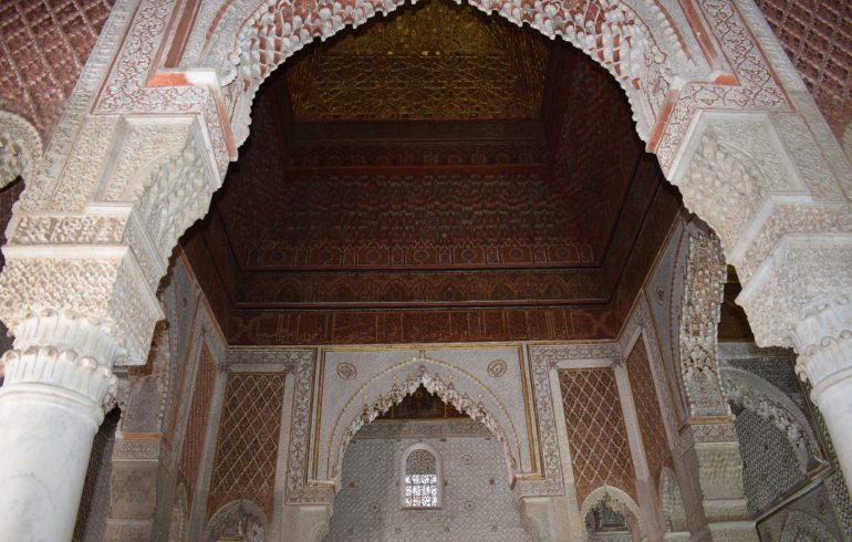 Tumbas Saadíes, Marrakech (Marruecos)