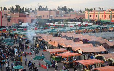 VIDEO: DJEMAA EL FNA, MARRAKECH (MARRUECOS)