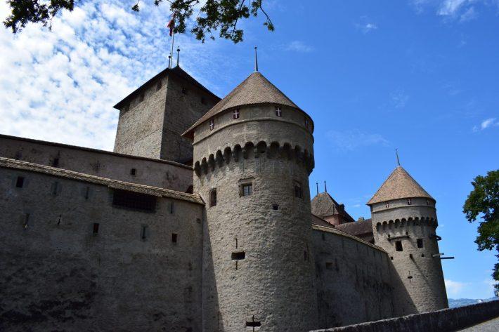Château de Chillon, Lago Leman (Suiza)
