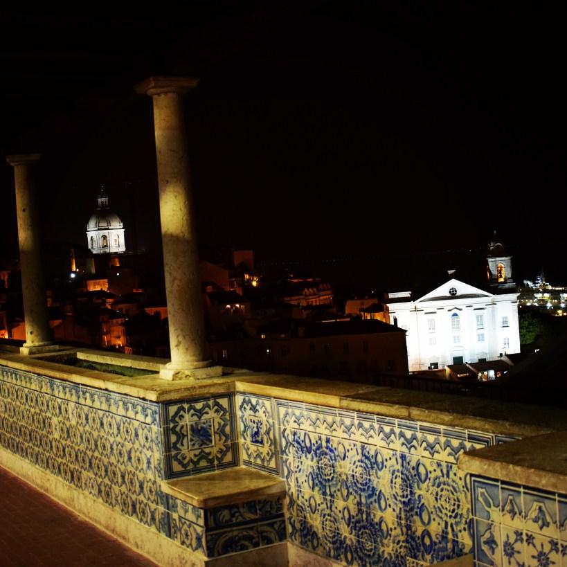 Mirador de Santa Lucía. Lisboa (Portugal)