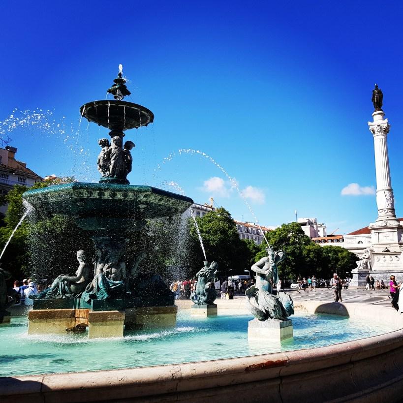 Plaza de Rossio. Lisboa (Portugal)