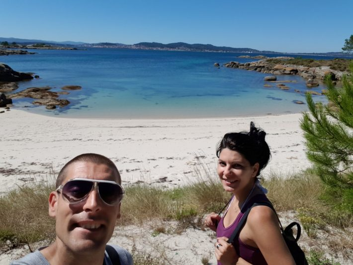 Parque Natural de Carreirón, isla de Arousa, Galicia (España)