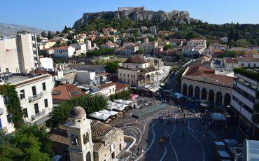 VIDEO: MONASTIRAKI, ATENAS (GRECIA) A LOS PIES DE LA ACRÓPOLIS