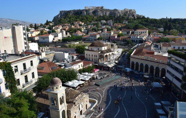 Monastiraki, Atenas (Grecia)