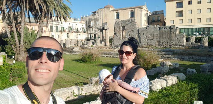 Templo de Apolo, Siracusa, Sicilia (Italia)