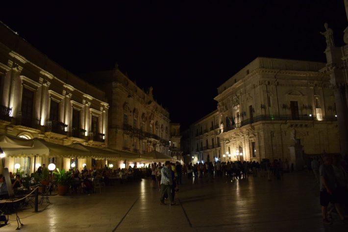 Piazza del Duomo, Siracusa, Sicilia (Italia)