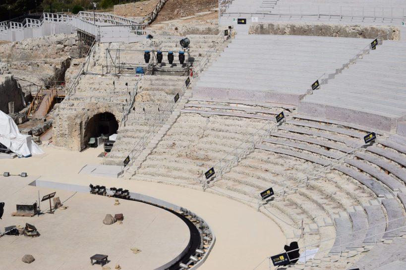 Teatro Griego, Parque arqueológico, Siracusa, Sicilia (Italia)