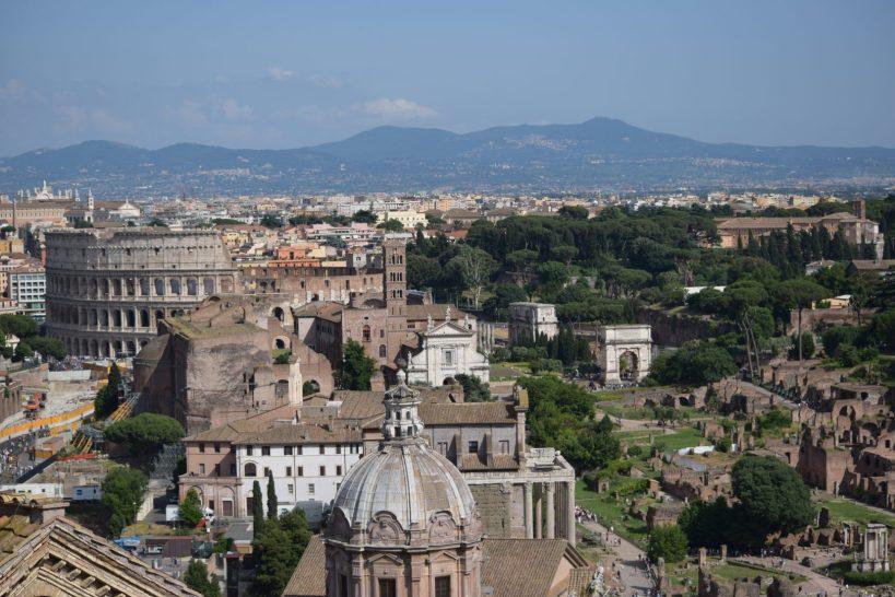 El Foro y el Coliseo, Roma (Italia)