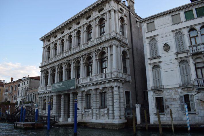 Ca' Rezzonico, Gran Canal, Venecia (Italia)