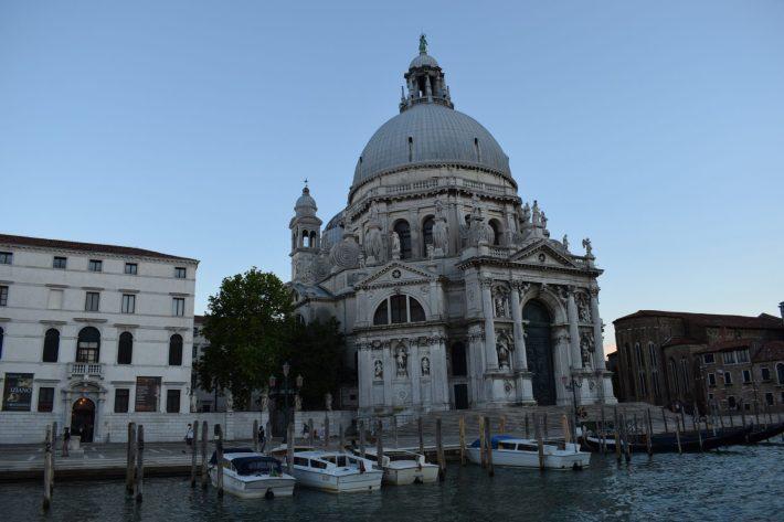 Santa Maria della Salute, Gran Canal, Venecia (Italia)