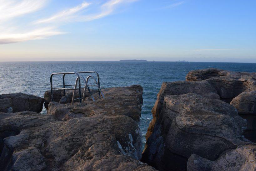 Balcón de Pilatos y las Islas Berlengas al fondo, Peniche (Portugal)